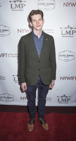 screening: New York, NY, USA - March 4, 2016: Actor Tommy Nelson attends the Little Miss Perfect New York special screening at DGA Theater, Manhattan.