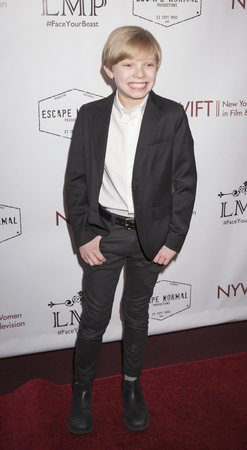 Graham: New York, NY, USA - March 4, 2016: Actor Graham Montgomery attends the Little Miss Perfect New York special screening at DGA Theater, Manhattan.