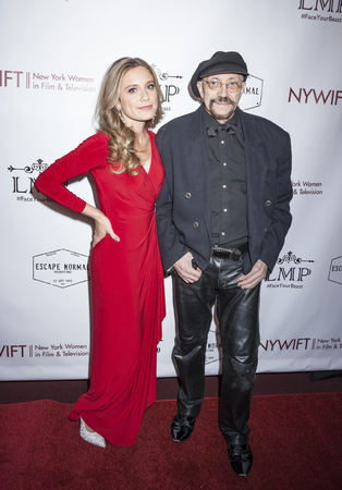 karl: New York, NY, USA - March 4, 2016: Director Marlee Roberts and producer Karl Bardosh attend the Little Miss Perfect New York special screening at DGA Theater, Manhattan. Editorial