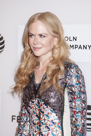 fang: New York, NY, USA - April 16, 2016:Actressproducer Nicole Kidman attends The Family Fang Premiere during 2016 Tribeca Film Festival at John Zuccotti Theater at BMCC Tribeca Performing Arts Center Editorial