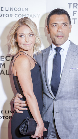 kelly: New York, NY, USA - April 15, 2016: Kelly Ripa and Mark Consuelos attend the All We Had premiere during the 2016 Tribeca Film Festival at the John Zuccotti Theater at BMCC Tribeca Performing Arts Center