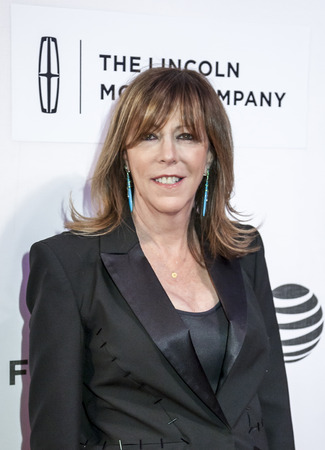 film festival: New York, NY, USA - April 15, 2016: Co-Founder of Tribeca Film Festival Jane Rosenthal attends the All We Had premiere during the 2016 Tribeca Film Festival at the John Zuccotti Theater at BMCC Tribeca Performing Arts Center Editorial