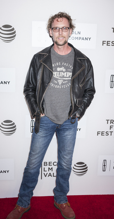 warner: New York, NY, USA - April 14, 2016: Actor Jayson Warner Smith attends the The Devil And The Deep Blue Sea premiere during the 2016 Tribeca Film Festivalat at the John Zuccotti Theater at BMCC Tribeca Performing Arts Center Editorial