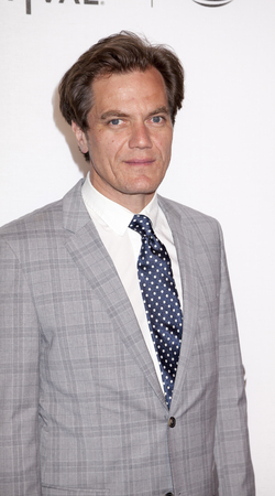 film festival: New York, NY, USA - April 18, 2016: Actor Michael Shannon attends the Elvis & Nixon premiere during the 2016 Tribeca Film Festival at the John Zuccotti Theater at BMCC Tribeca Performing Arts Center