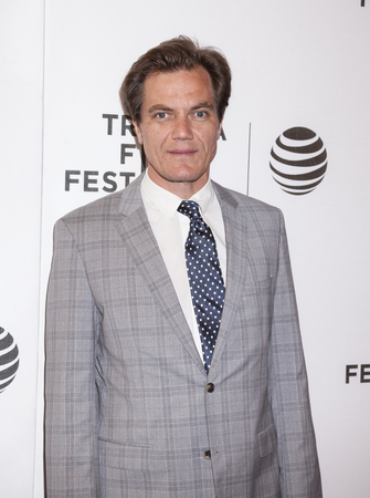 New York, NY, USA - April 18, 2016: Actor Michael Shannon attends the Elvis & Nixon premiere during the 2016 Tribeca Film Festival at the John Zuccotti Theater at BMCC Tribeca Performing Arts Center