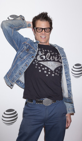 New York, NY, USA - April 18, 2016: Actor Johnny Knoxville attends the Elvis & Nixon premiere during the 2016 Tribeca Film Festival at the John Zuccotti Theater at BMCC Tribeca Performing Arts Center