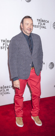 spacey: New York, NY, USA - April 18, 2016: Actor Kevin Spacey attends the Elvis & Nixon premiere during the 2016 Tribeca Film Festivalat at the John Zuccotti Theater at BMCC Tribeca Performing Arts Center