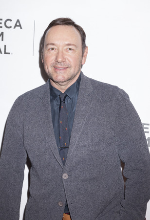 New York, NY, USA - April 18, 2016: Actor Kevin Spacey attends the Elvis & Nixon premiere during the 2016 Tribeca Film Festivalat at the John Zuccotti Theater at BMCC Tribeca Performing Arts Center