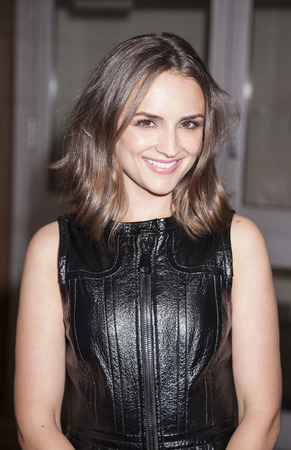 film festival: New York, NY, USA - April 18, 2016: Actress Rachael Leigh Cook attends the Elvis & Nixon premiere during the 2016 Tribeca Film Festival at the John Zuccotti Theater at BMCC Tribeca Performing Arts Center Editorial