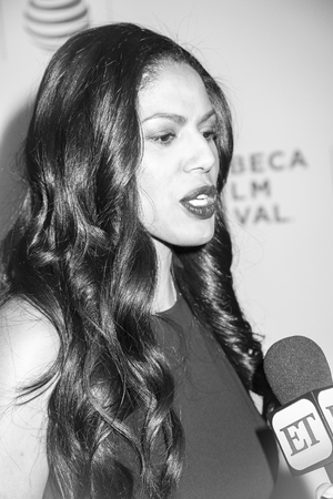 New York, NY, USA - April 20, 2016: Actress Merle Dandridge attends the Greenleaf premiere during the 2016 Tribeca Film Festival at the John Zuccotti Theater at BMCC Tribeca Performing Arts Center Editorial