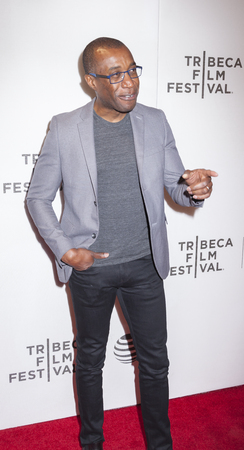 filmmaker: New York, NY, USA - April 20, 2016: Filmmaker Clement Virgo attends the Greenleaf premiere during the 2016 Tribeca Film Festival at the John Zuccotti Theater at BMCC Tribeca Performing Arts Center