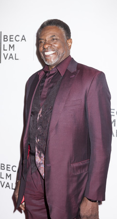 New York, NY, USA - April 20, 2016: Actor Keith David attends the Greenleaf premiere during the 2016 Tribeca Film Festival at the John Zuccotti Theater at BMCC Tribeca Performing Arts Center