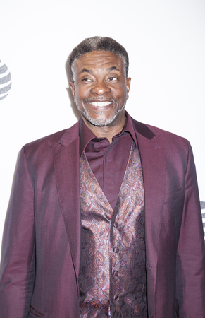 performing arts: New York, NY, USA - April 20, 2016: Actor Keith David attends the Greenleaf premiere during the 2016 Tribeca Film Festival at the John Zuccotti Theater at BMCC Tribeca Performing Arts Center