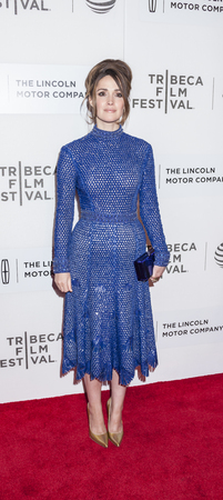 New York, NY, USA - April 19, 2016: Actress Rose Byrne attends the The Meddler premiere during the 2016 Tribeca Film Festival at the John Zuccotti Theater at BMCC Tribeca Performing Arts Center, NYC