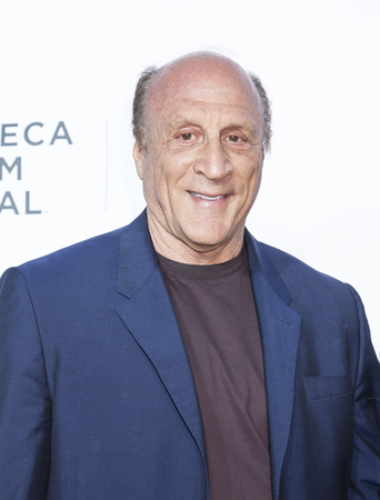 film festival: New York, NY, USA - April 21, 2016: Producer Michael Phillips attends the Taxi Driver 40th Anniversary Celebration during the 2016 Tribeca Film Festival at The Beacon Theatre, NYC