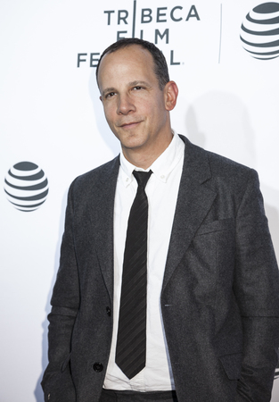 film festival: New York, NY, USA - April 21, 2016: Tribeca Enterprises CEO Andrew Essex attends the Taxi Driver 40th Anniversary Celebration during the 2016 Tribeca Film Festival at The Beacon Theatre, NYC