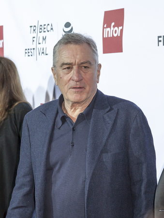 film festival: New York, NY, USA - April 21, 2016: Actor Robert De Niro attends the Taxi Driver 40th Anniversary Celebration during the 2016 Tribeca Film Festival at The Beacon Theatre, NYC