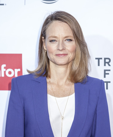 New York, NY, USA - April 21, 2016: Actress Jodie Foster attends the 'Taxi Driver' 40th Anniversary Celebration during the 2016 Tribeca Film Festival at The Beacon Theatre, NYC