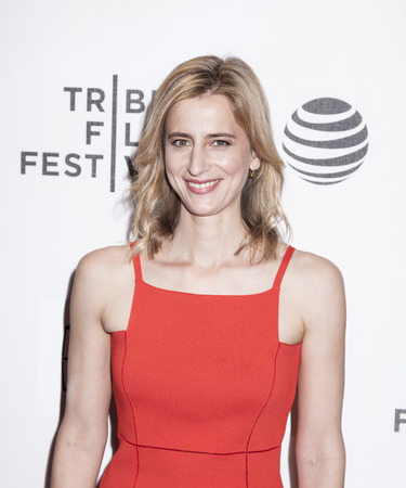 New York, NY, USA - April 20, 2016: Actress Christy Meyer attends the A Hologram For The King premiere during the 2016 Tribeca Film Festival at the John Zuccotti Theater at BMCC Tribeca Performing Arts Center