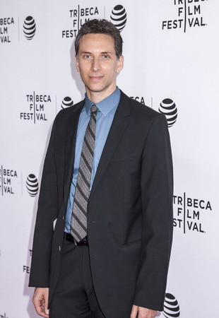 film festival: New York, NY, USA - April 22, 2016: Actor Ben Shenkman attends Tribeca Tune In: The Night Of Screening during 2016 Tribeca Film Festival at SVA Theatre Editorial