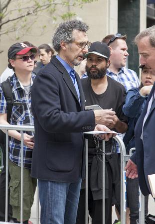 film festival: New York, NY, USA - April 22, 2016: Actor John Turturro attends Tribeca Tune In: The Night Of Screening during 2016 Tribeca Film Festival at SVA Theatre