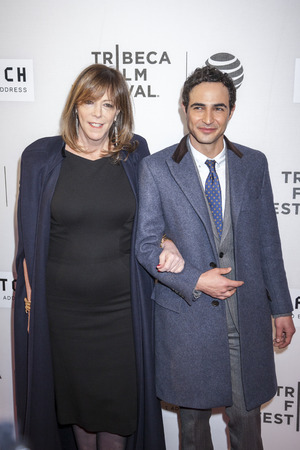 jane: New York, NY, USA - April 13, 2016: Producer Jane Rosenthal and designer Zac Posen attend the 2016 Tribeca Film Festival opening night world premiere of The First Monday In May at John Zuccotti Theater at BMCC Tribeca Performing Arts Center