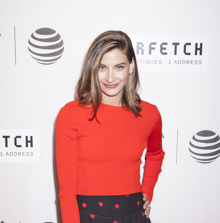 New York, NY, USA - April 13, 2016: Sylvana Ward Durrett attends the 2016 Tribeca Film Festival opening night world premiere of The First Monday In May at John Zuccotti Theater at BMCC Tribeca Performing Arts Center