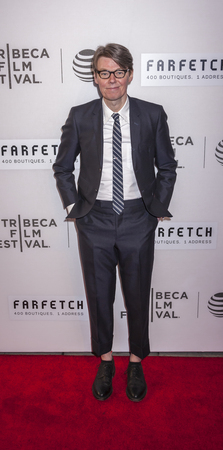 curator: New York, NY, USA - April 13, 2016: Metropolitan Museum of Art Costume Institute Curator Andrew Bolton attends the 2016 Tribeca Film Festival opening night world premiere of The First Monday In May at John Zuccotti Theater at BMCC Tribeca Performing Art