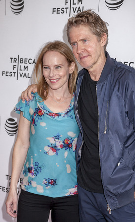 mackenzie: New York, NY, USA - April 22, 2016: Actors Amy Ryan and J. C. MacKenzie attend Tribeca Talks After The Movie: By Sidney Lumet during the 2016 Tribeca Film Festival at SVA Theatre, Manhattan