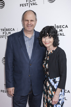 sidney: New York, NY, USA - April 22, 2016: Producer Michael Kanto and director Nancy Buirski attend Tribeca Talks After The Movie: By Sidney Lumet during the 2016 Tribeca Film Festival at SVA Theatre, Manhattan