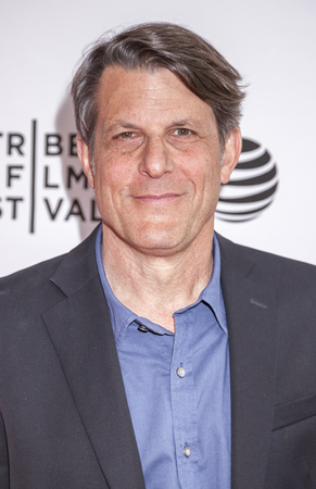New York, NY, USA - April 18, 2016: Director Adam Nimoy attends the Tribeca Tune In: 'For The Love Of Spock' during the 2016 Tribeca Film Festival at the SVA Theatre, Manhattan
