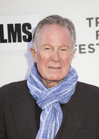 New York, NY, USA - April 16, 2016: Celebrity chef Jeremiah Tower attends the premiere of Jeremiah Tower: The Last Magnificent during the 2016 Tribeca Film Festival at the John Zuccotti Theater at BMCC Tribeca Performing Arts Center