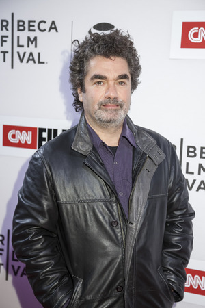 performing arts: New York, NY, USA - April 16, 2016: Documentary filmmaker Joe Berlinger  attends the premiere of Jeremiah Tower: The Last Magnificent during the 2016 Tribeca Film Festival at the John Zuccotti Theater at BMCC Tribeca Performing Arts Center Editorial