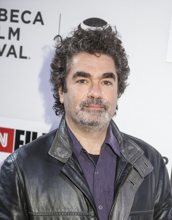 filmmaker: New York, NY, USA - April 16, 2016: Documentary filmmaker Joe Berlinger  attends the premiere of Jeremiah Tower: The Last Magnificent during the 2016 Tribeca Film Festival at the John Zuccotti Theater at BMCC Tribeca Performing Arts Center Editorial