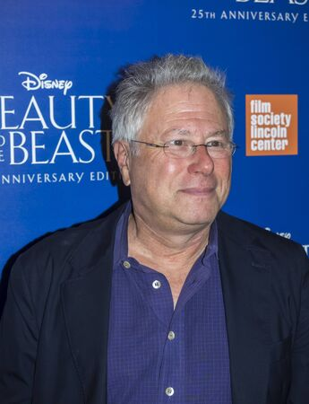 New York, NY, USA - September 18, 2016: Alan Menken attends the Beauty and The Beast 25th Anniversary Screening at Alice Tully Hall, Lincoln Center, Manhattan