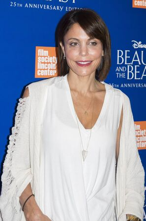 screening: New York, NY, USA - September 18, 2016: Bethenny Frankel attends the Beauty and The Beast 25th Anniversary Screening at Alice Tully Hall, Lincoln Center, Manhattan Editorial