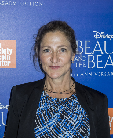 falco: New York, NY, USA - September 18, 2016:  Edie Falco attends the Beauty and The Beast 25th Anniversary Screening at Alice Tully Hall, Lincoln Center, Manhattan