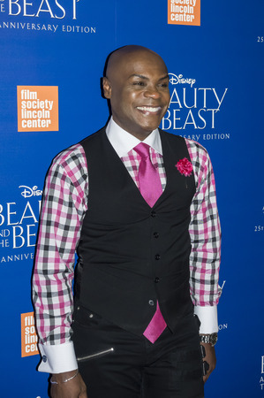 Graham: New York, NY, USA - September 18, 2016: Nathan Lee Graham attends the Beauty and The Beast 25th Anniversary Screening at Alice Tully Hall, Lincoln Center, Manhattan Editorial