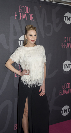 christine: New York, NY, USA - November 14, 2016: Actress Christine Seidel attends TNT�s Good Behavior Premiere Event at The Roxy Hotel, Manhattan