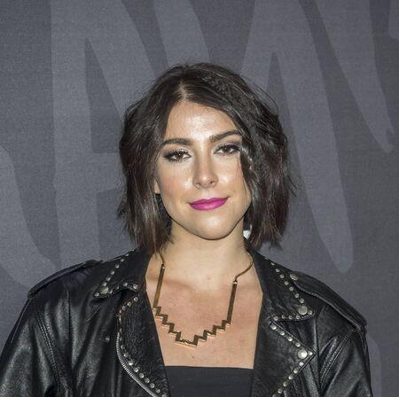 New York, NY, USA - 14. November 2016: Schauspielerin Sophia Silber nimmt an gutes Benehmen Premiere Event im Roxy Hotel, Manhattan TNT Editorial