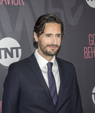 New York, NY, USA - 14. November 2016: Actror Juan Diego Sotto nimmt an gutes Benehmen Premiere Event im Roxy Hotel, Manhattan TNT