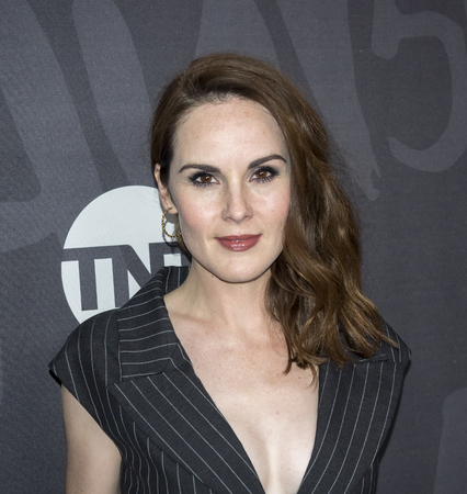 actress: New York, NY, USA - November 14, 2016: Actress Michelle Dockery attends TNT's Good Behavior Premiere Event at The Roxy Hotel, Manhattan Editorial