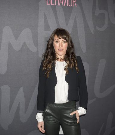 New York, NY, USA - 14. November 2016: Schauspielerin Samantha Soule nimmt an gutes Benehmen Premiere Event im Roxy Hotel, Manhattan TNT Editorial