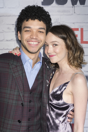 New York, New York, USA, April 5, 2017: Justice Smith attends New York Kickoff Party for the Netflix The Get Down season One Part Two at Irving Plaza, Manhattan