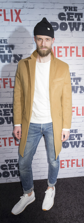 New York, New York, USA, April 5, 2017: Adam David Thompson attends New York Kickoff Party for the Netflix The Get Down season One Part Two at Irving Plaza, Manhattan