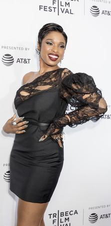 New York, NY, USA - April 19, 2017: Jennifer Hudson attends the 2017 Tribeca Film Festival - Clive Davis: The Soundtrack Of Our Lives world premiere - opening night at Radio City Music Hall