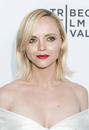 New York, NY, USA - April 19, 2017: Actress Christina Ricci attends the 2017 Tribeca Film Festival - Clive Davis: The Soundtrack Of Our Lives world premiere - opening night at Radio City Music Hall