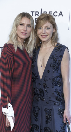 hemingway: NEW YORK, NY , USA - APRIL 22: Actresses Dree Hemingway and Juliet Rylance attend US Narrative Competition:'Love After Love' Premiere during the 2017 Tribeca Film Festival at SVA Theater, Manhattan