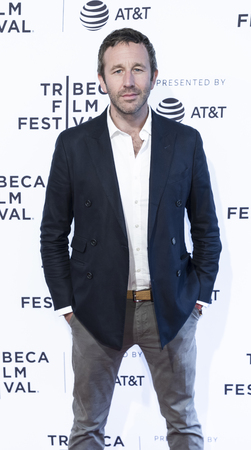 NEW YORK, NY , USA - APRIL 22: Actor Chris ODowd attends US Narrative Competition: �Love After Love� Premiere during the 2017 Tribeca Film Festival at SVA Theater, Manhattan