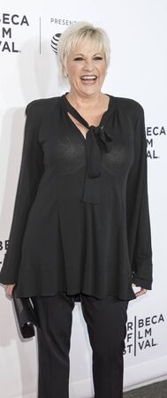 luft: New York, NY, USA - April 19, 2017: Lorna Luft attends the 2017 Tribeca Film Festival - Clive Davis: The Soundtrack Of Our Lives world premiere - opening night at Radio City Music Hall